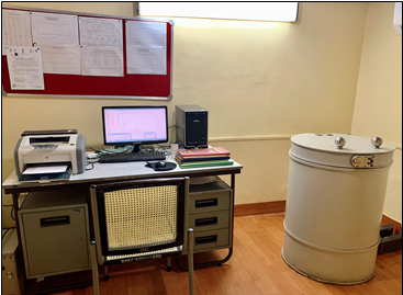 Radio analytical Laboratory at RC- Bangalore